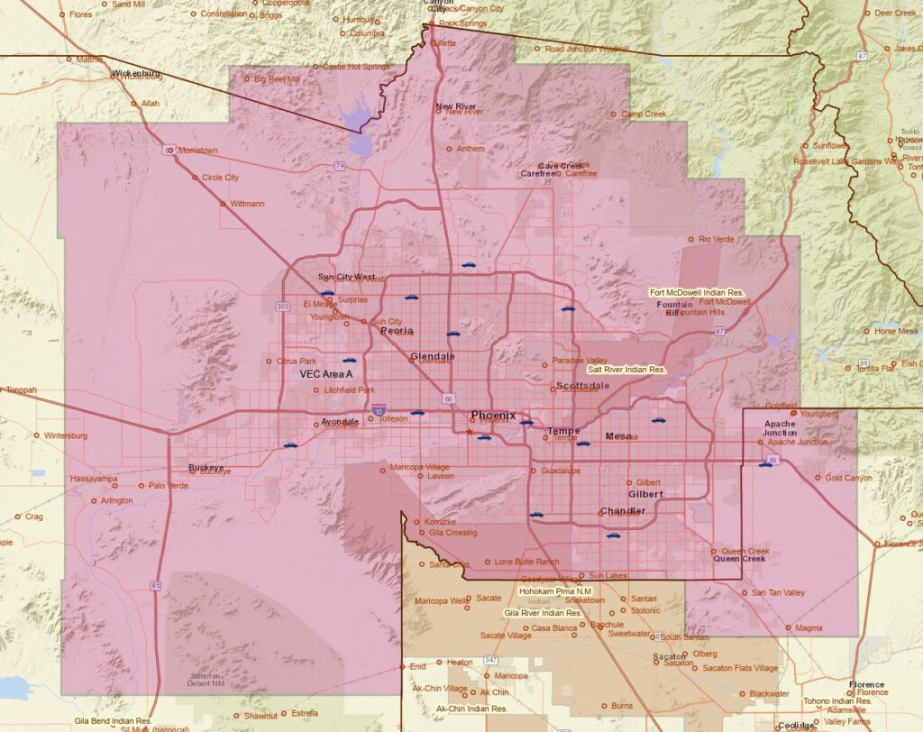 Emissions Testing in Phoenix